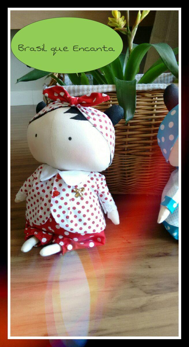 Tilda Sweetheart ...encanta e abre sorrisos! ...dê uma de presente para quem você ama!