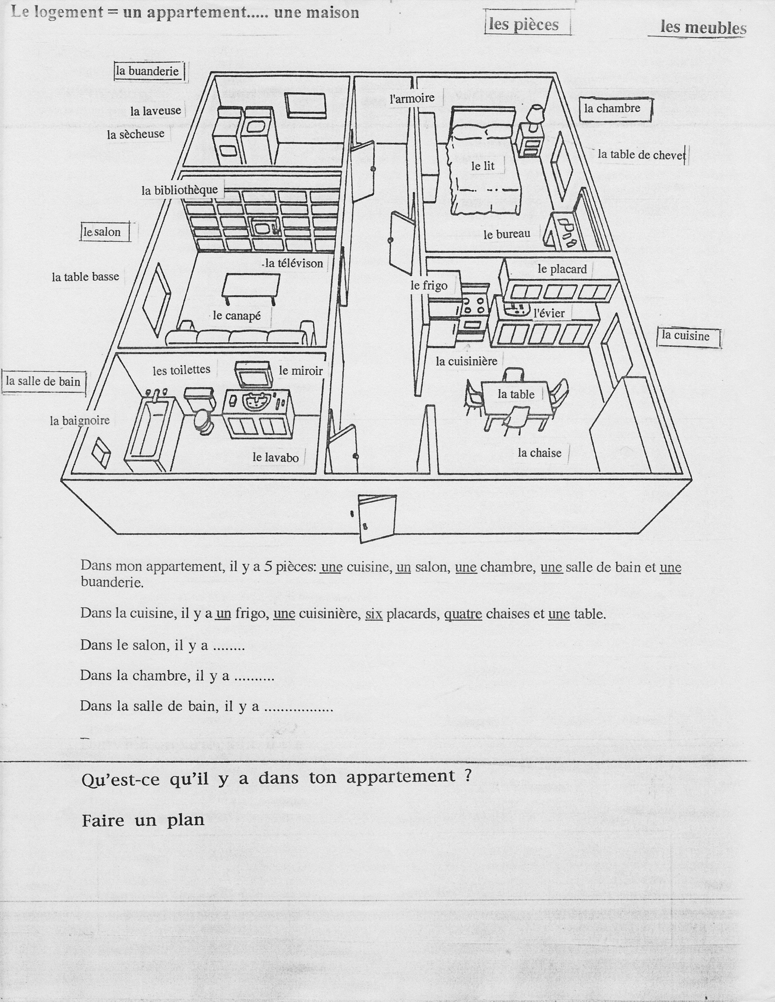 Description D Un Logement