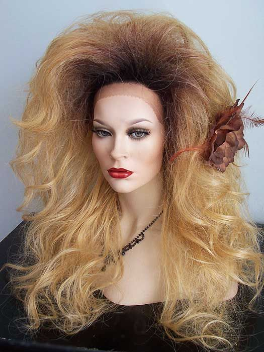 Big Tease Drag Queen Bouffant Hairstyle Wig Long Beautiful