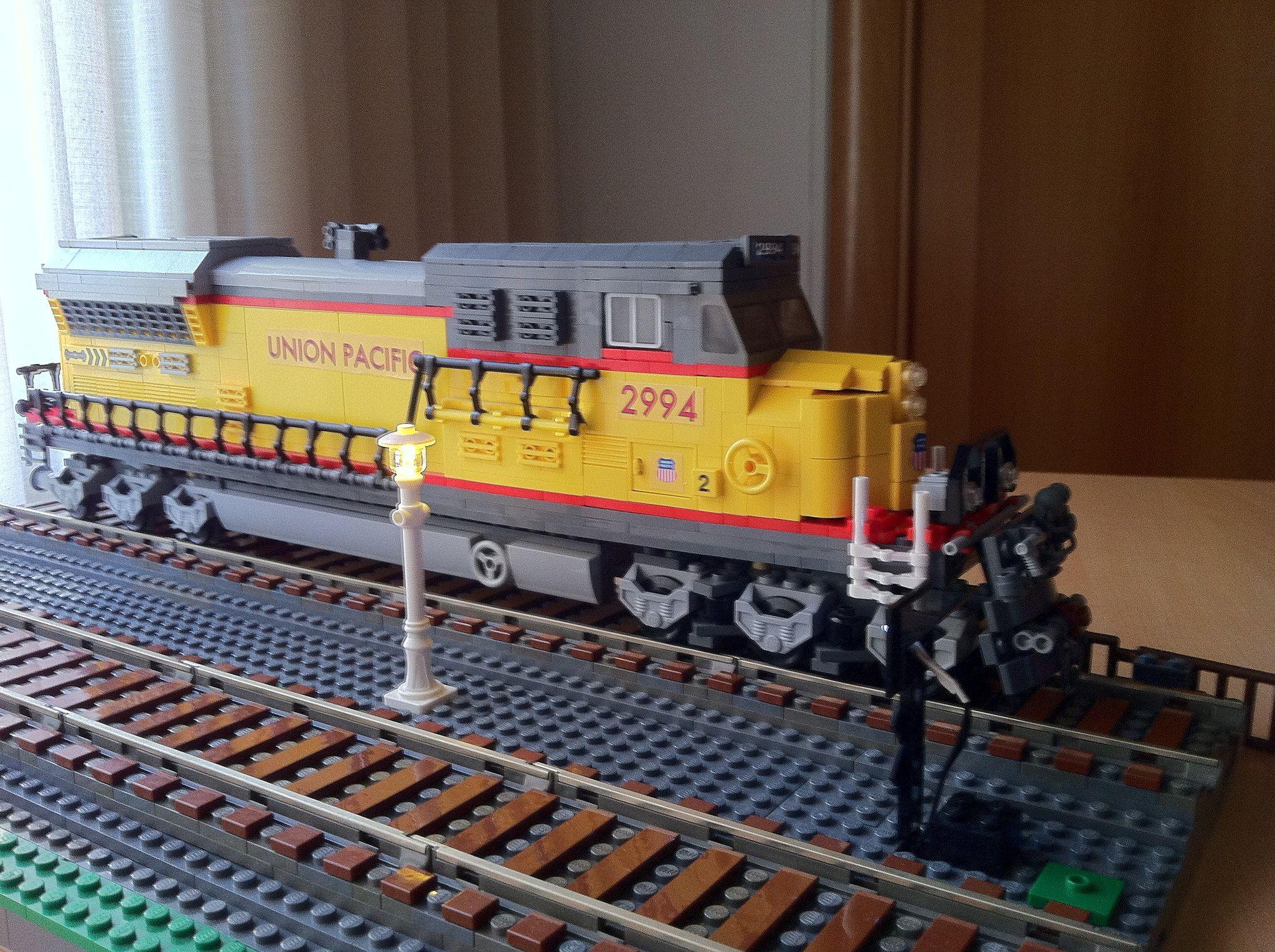 union pacific lego mocs ideas pinterest lego trains lego