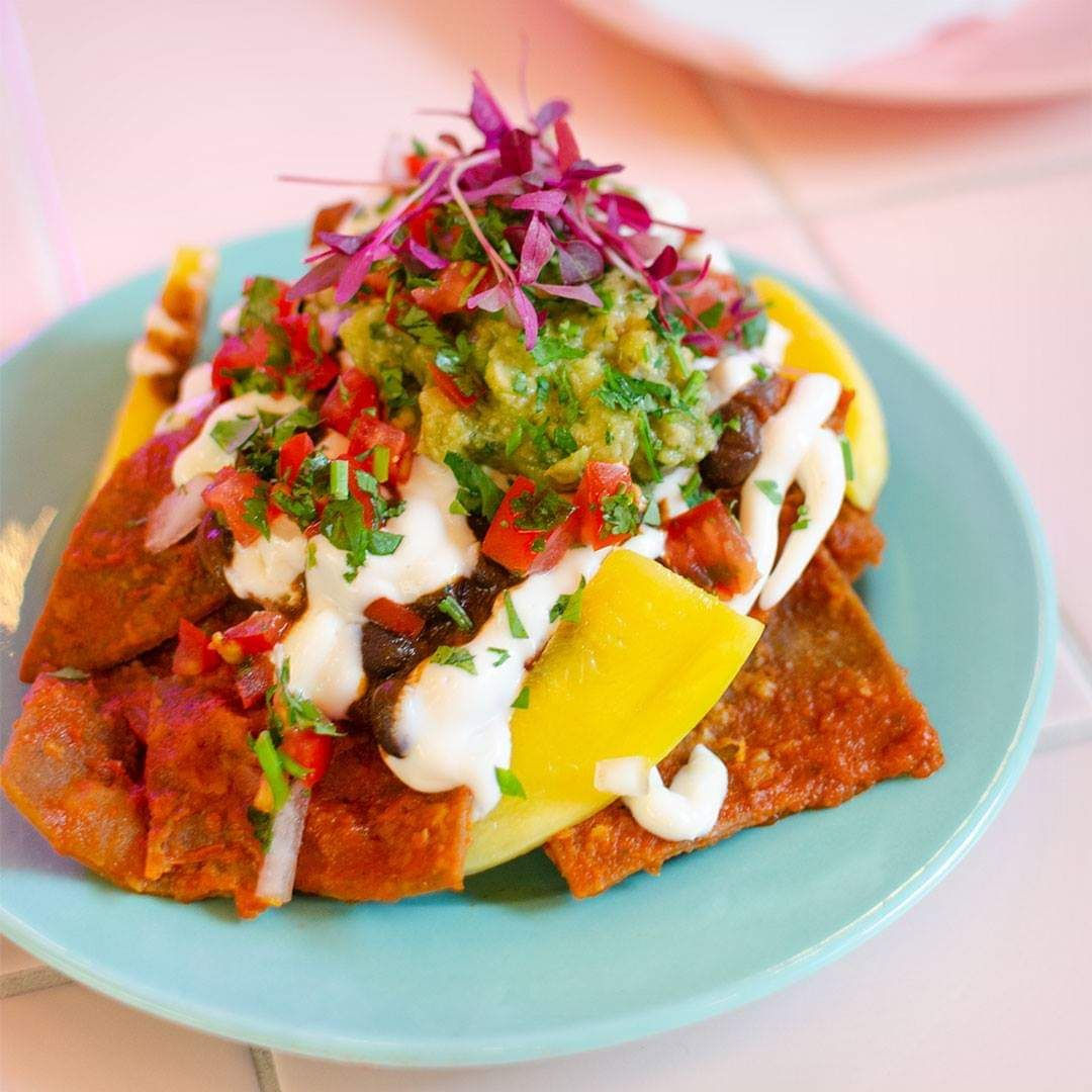 Chilaquiles Rojos From Eat Genesis In Shoreditch London