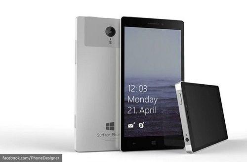 Rò rỉ thông tin về chiếc smartphone Microsoft Surface