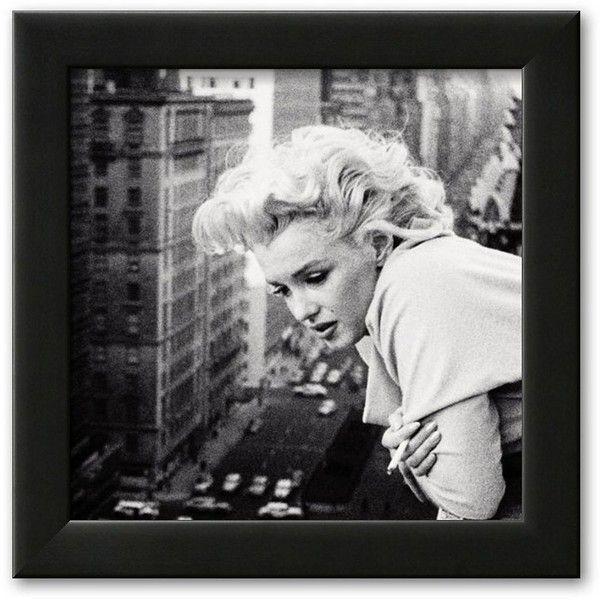 Art.com Marilyn Monroe Framed Art Print ($55) ❤ liked on Polyvore ...