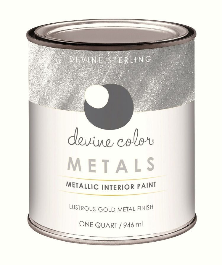 5 Tips On Build Small Kitchen Remodeling Ideas On A Budget: Devine Color Silver Metallic Paint Is So Easy To Use