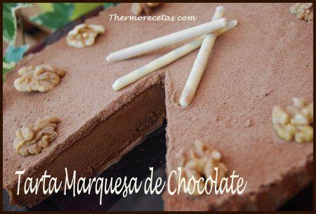 Como buena amante del chocolate que soy no podía olvidarme de esta receta. Es una de las primeras tartas que hice al tener mi thermomix y me encantó, sobre