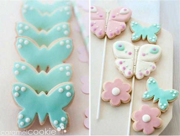 Caramel Cookie - Una comunión en rosa y mint