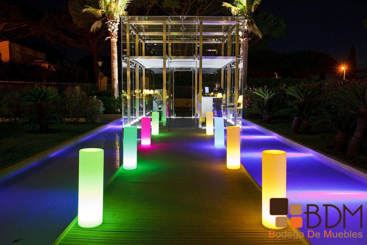 Crea caminos iluminados con las últimas tendencias en decoración led ...