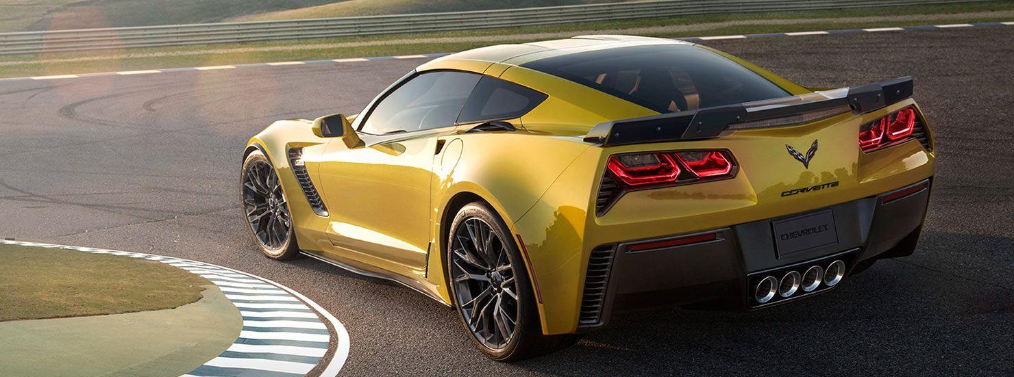 2015 Corvette Z06 Z07 Package Aerodynamics Chevrolet Corvette