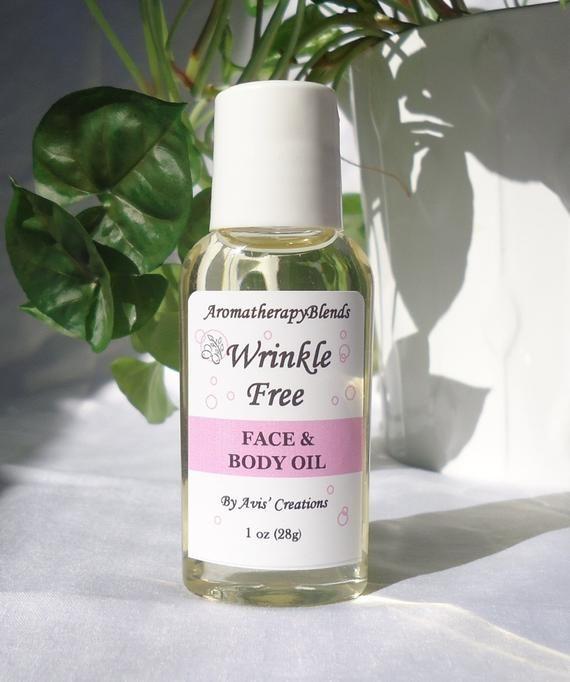 Wrinkle Free, Face & Body Oil, Anti Aging, Moisturizing