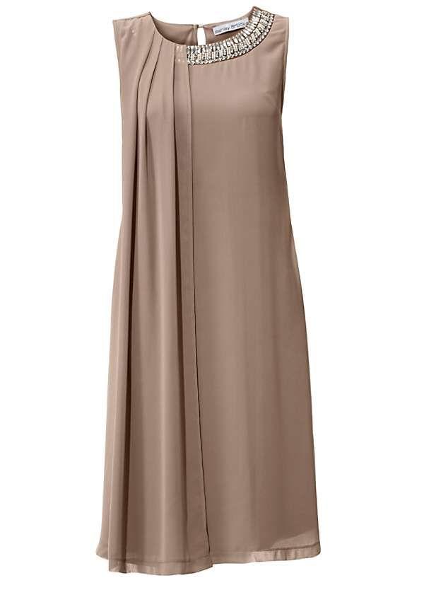 Heine Sequin Chiffon Dress