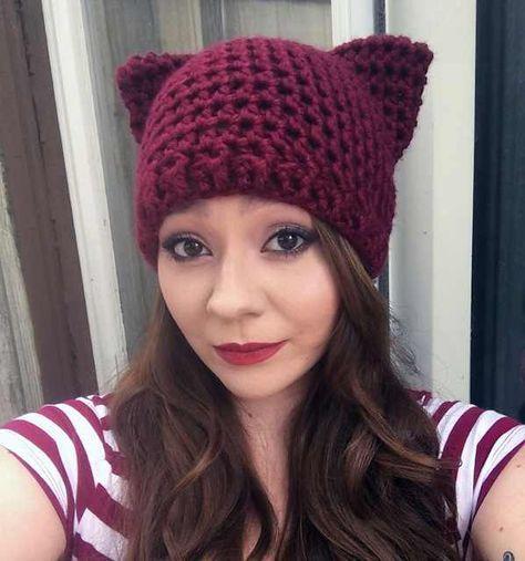 Ravelry: Cat Ear Ear warmer headband pattern by Ashley Charmed | 507x474