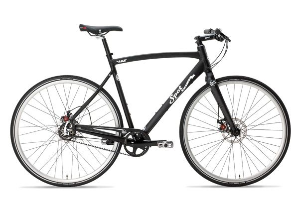 Spot Brand - Ajax is a complete flat bar road bike with Alfine 8 ...