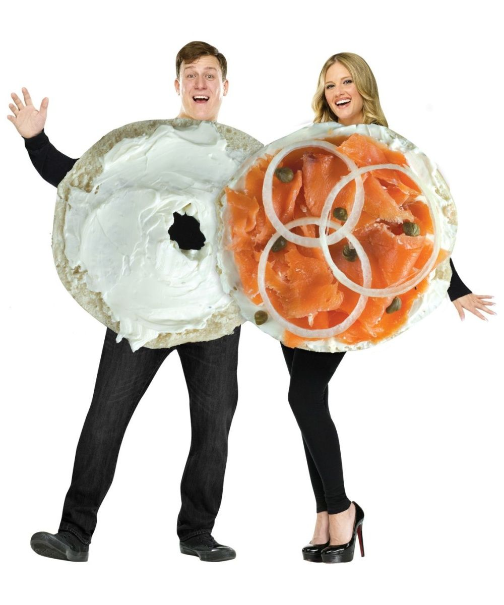 Bagel And Lox Couples Costume @lizbacorn HEY LIZ, I THINK THIS ...