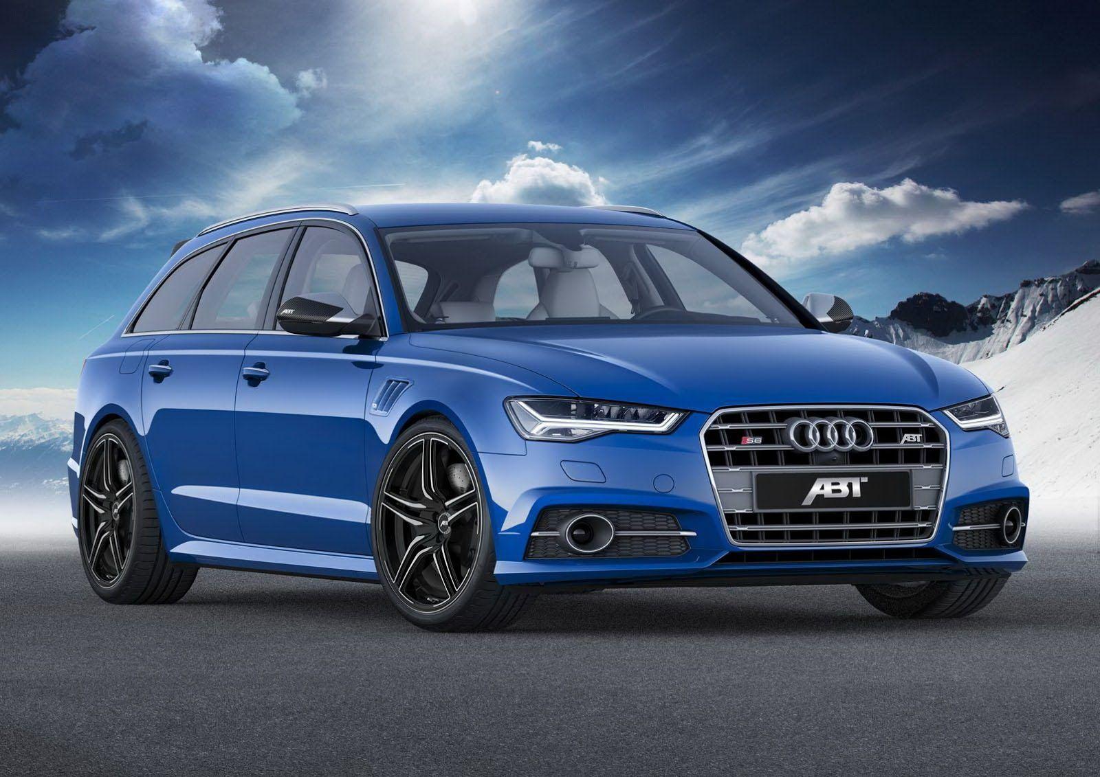 ABT Pumps 550 HP Into Facelifted Audi S6 Avant
