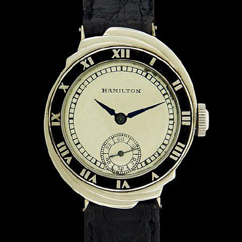 hamilton the spur deco gold watches
