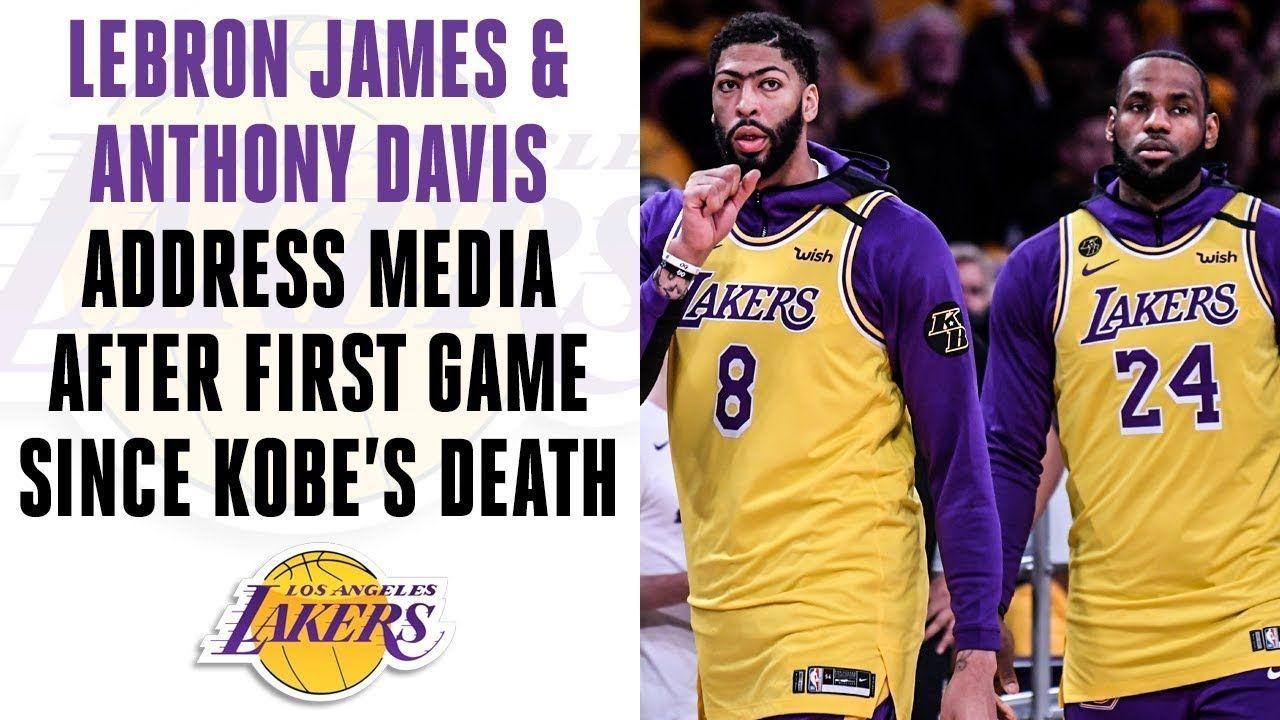 LeBron James & Anthony Davis address media after Lakers' 1st game since Kobe's death| CBS Sports HQ - Lebron james lakers - #1st #address #Anthony #CBS #Davis #Death #Game #James #Kobes #Lakers #LeBron #Lebronjameslakers #Media #Sports