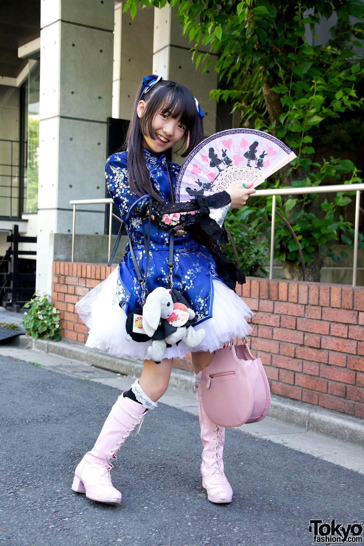 Harajuku Fashion Walk Street Snaps 10 (15)