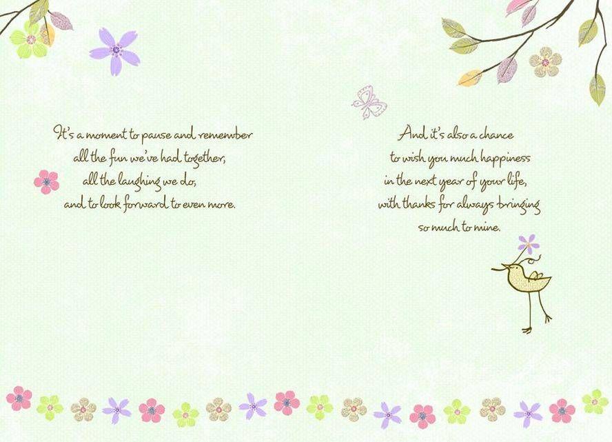 Thankful Friend Birthday Wishes Card
