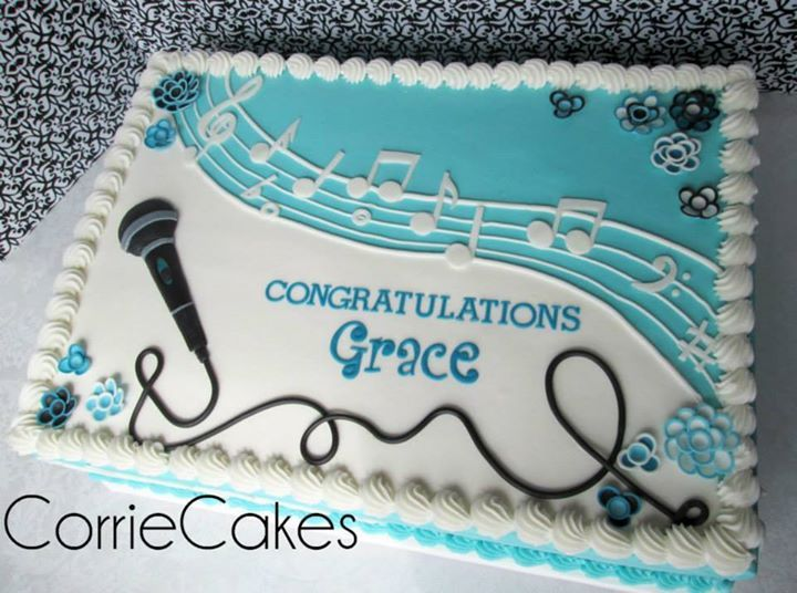 Music Cake By Corriecakes With Images Music Cakes Music