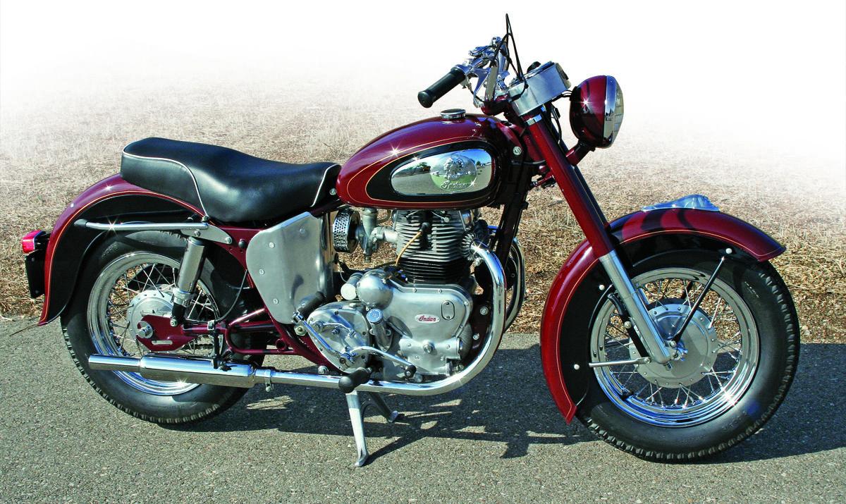 Retrospective Indian Royal Enfield Chief 700cc 1959 1961 Royal Enfield Indian Motorcycle Vintage Motorcycles