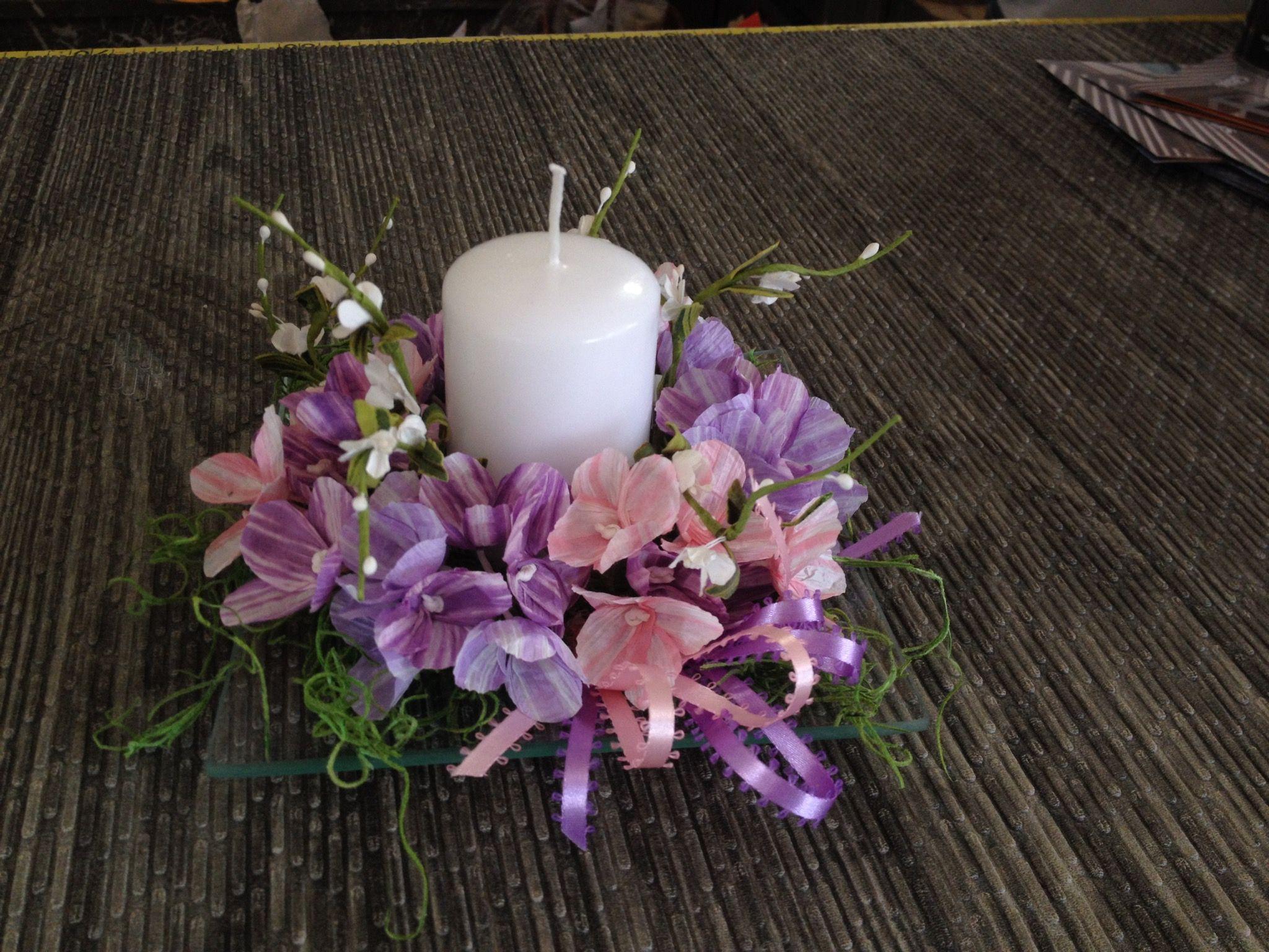 Pirkka paper flowers
