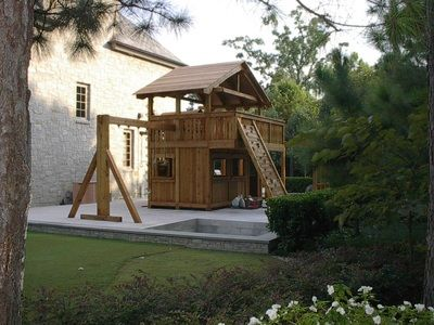 Custom Swing Set and Playset Designs from Jack's Backyard ...