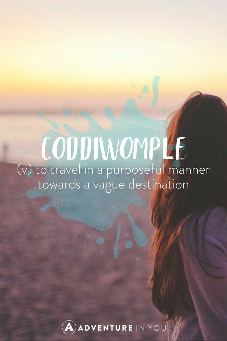 Unusual Travel Words with Beautiful Meanings | Beautiful ...
