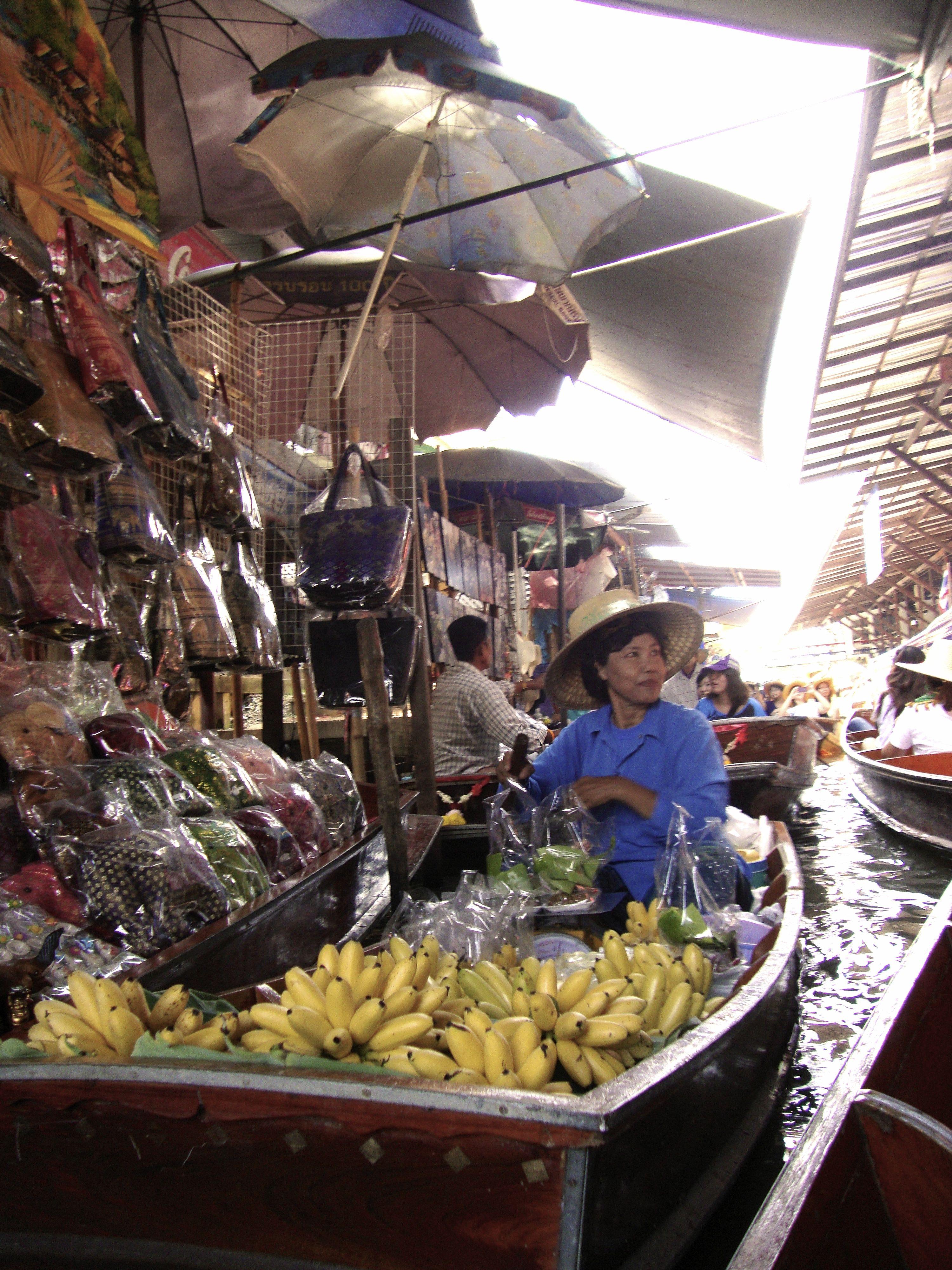 Floating Market Bangkok, Thailand
