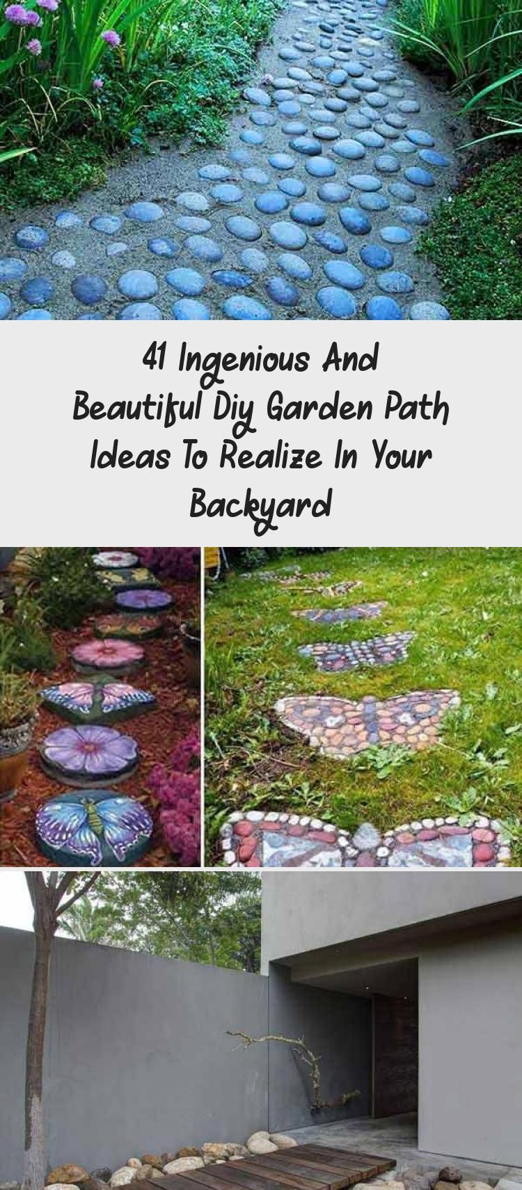 Photo of 41 Ingenious And Beautiful Diy Garden Path Ideas To Realize In Your Backyard – Backyard İdeas
