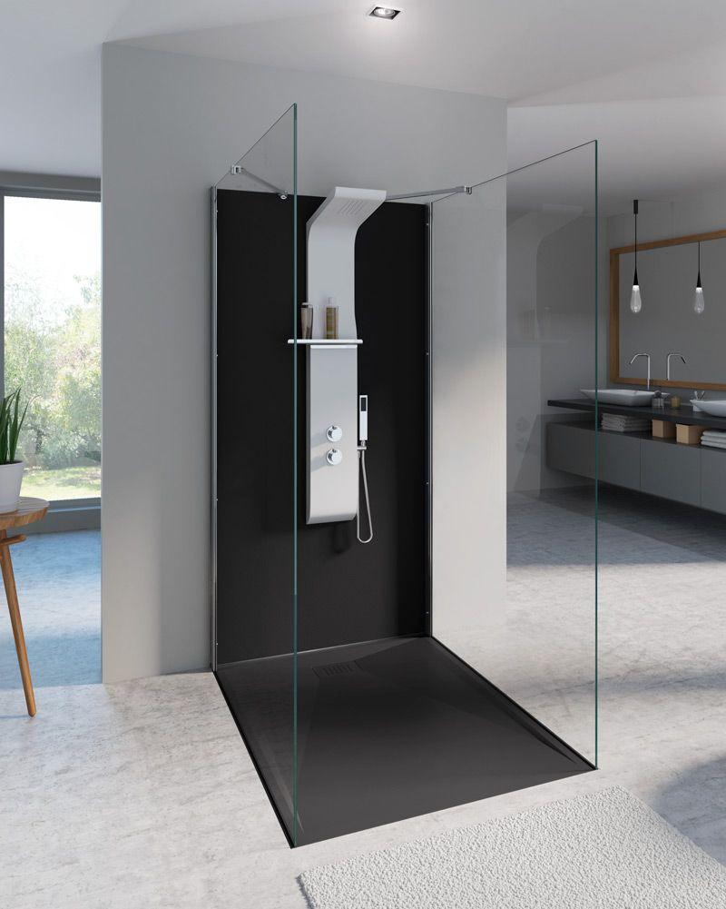 ¿Reformar un baño sin obras?? | Paneles de ducha, Platos ...