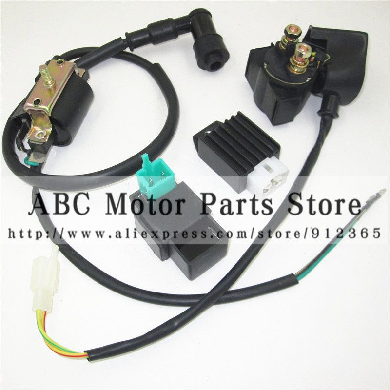50cc 70cc 90cc 110cc Electric start Engine Ignition Coil and