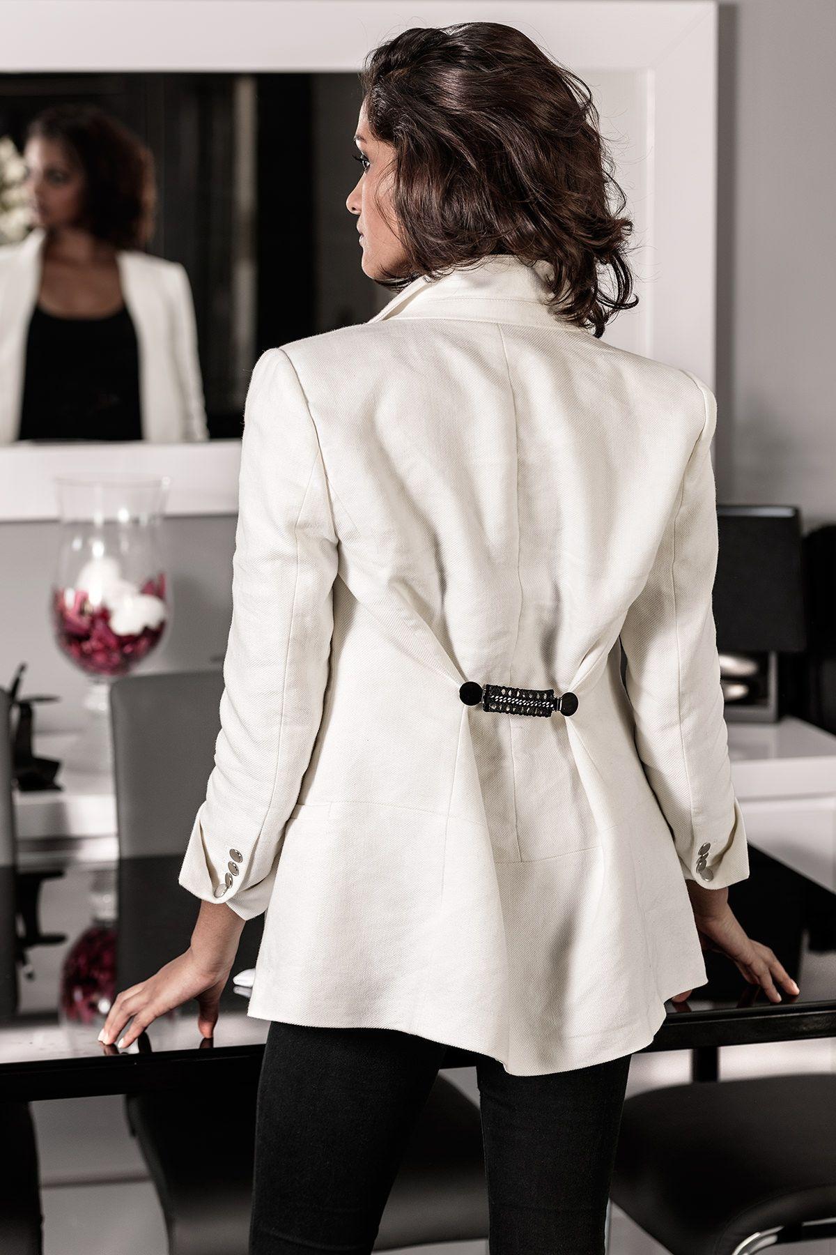 pince bijou pour vêtement CLIPSHIRT SPIRIT - clipshirt DIANE - idéal pour faire une jolie taille, cintrer une veste, être élégante - fabriqué en France