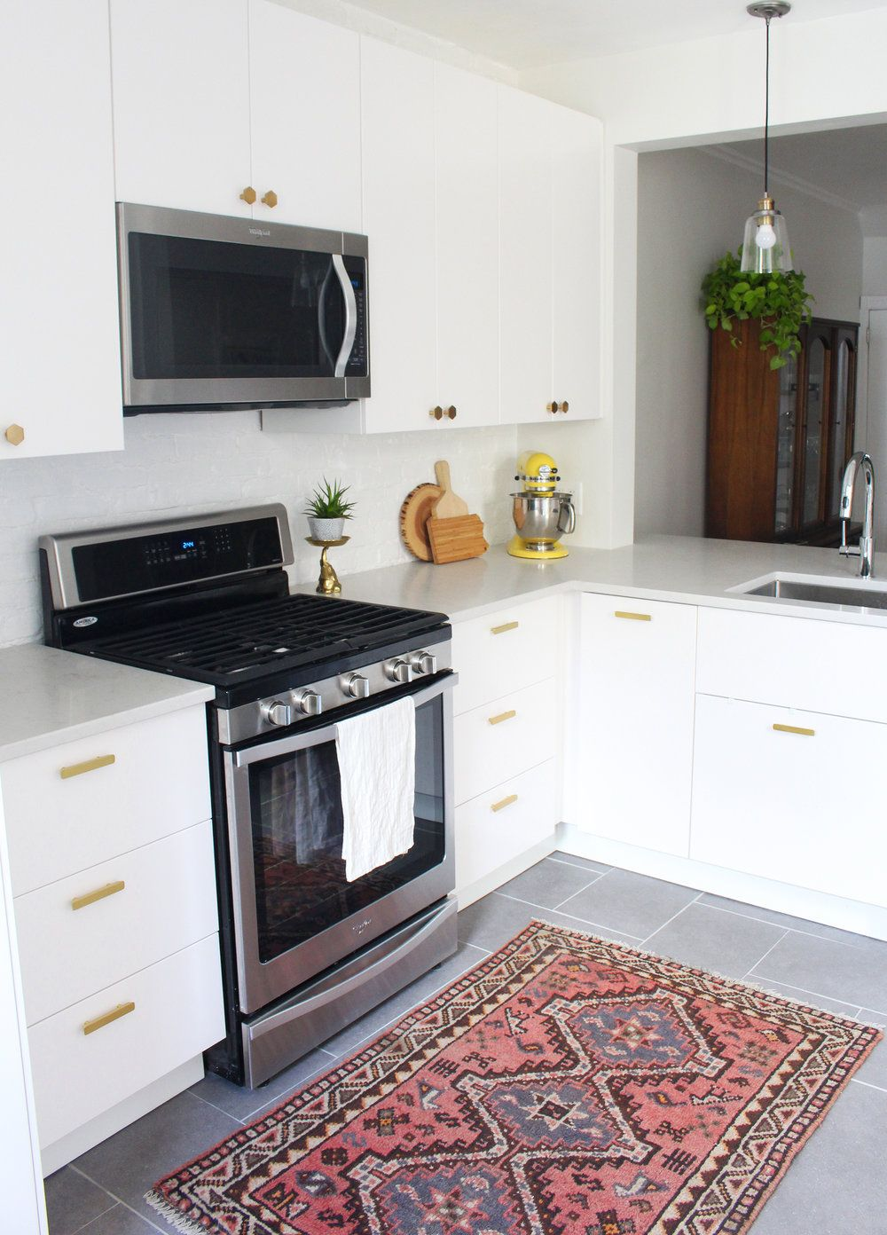 Shop the look of this small, modern IKEA kitchen (Veddinge). | Dream ...