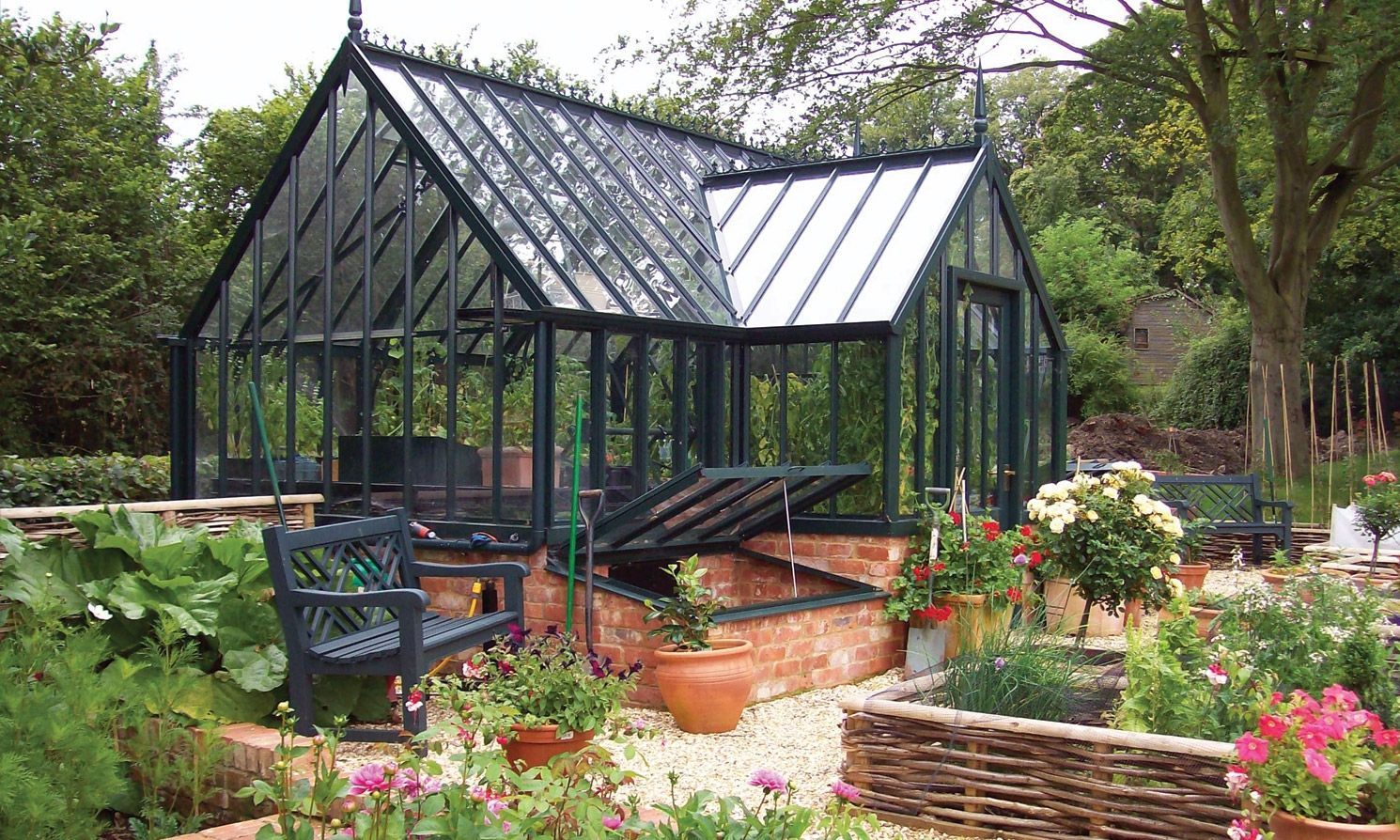 national trust tatton greenhouse in yew tree green house