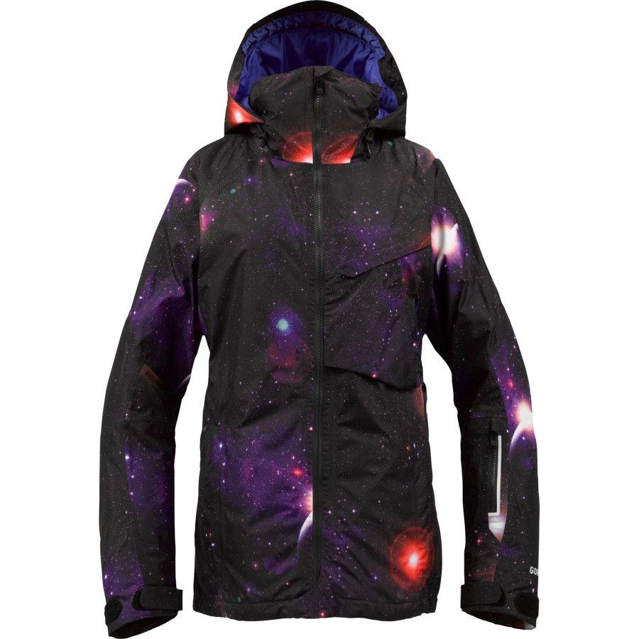 25096d3cb53 Gonna bring the galaxy with me! Burton AK 2L Embark Jacket