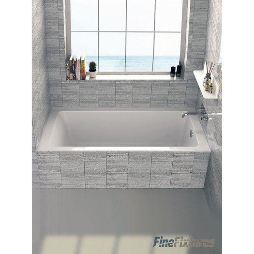 Fine Fixtures Drop In Or Alcove 30 X 60 Soaking Bathtub