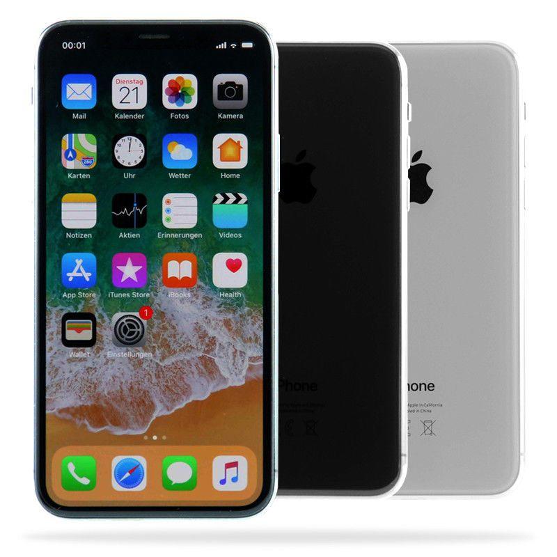 Apple iPhone X / 64GB 256GB / Space Grau Silber / Händler