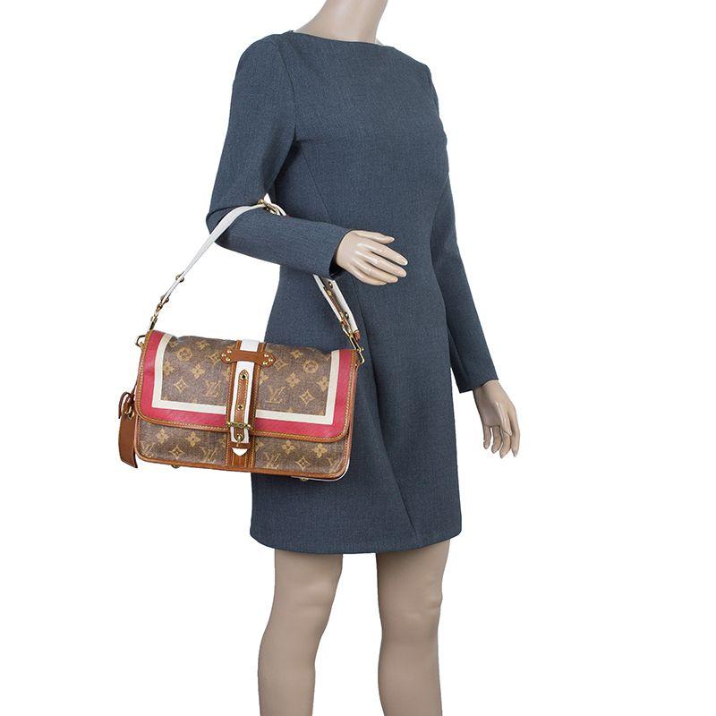 11ec2c48840 Louis Vuitton Monogram Limited Edition Tisse Porte Rayures Clutch Bag - Buy    Sell - LC