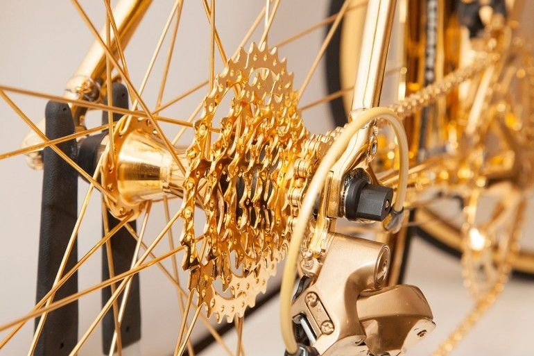 Gold-Plated Bicycles : Goldgenie