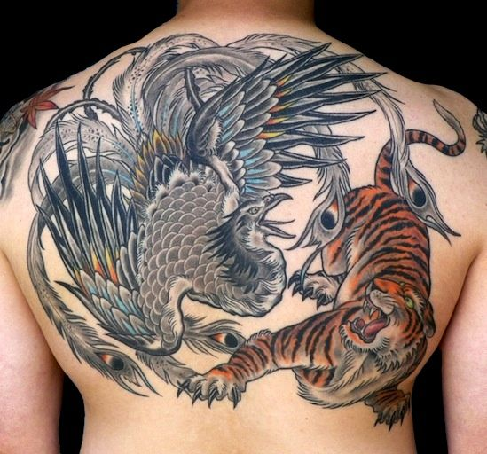 Andrea Ottlewski Tattoos Back Tattoos Cool Tattoos