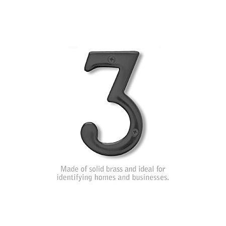 6 In House Number Salsbury Industries House Numbers Address Numbers