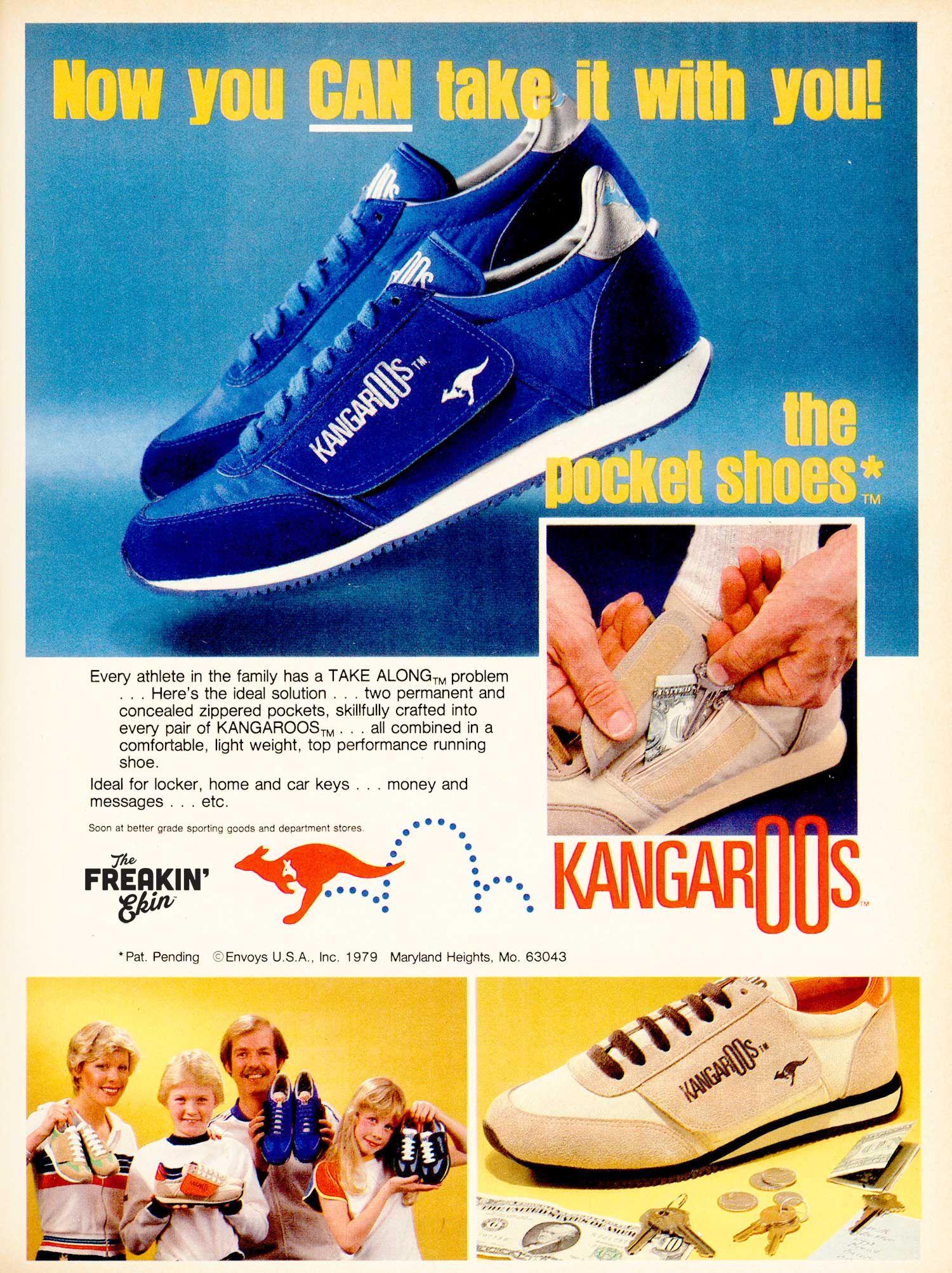 b24d52707364 KangaROOS 80s vintage sneaker ad   The Freakin  Ekin