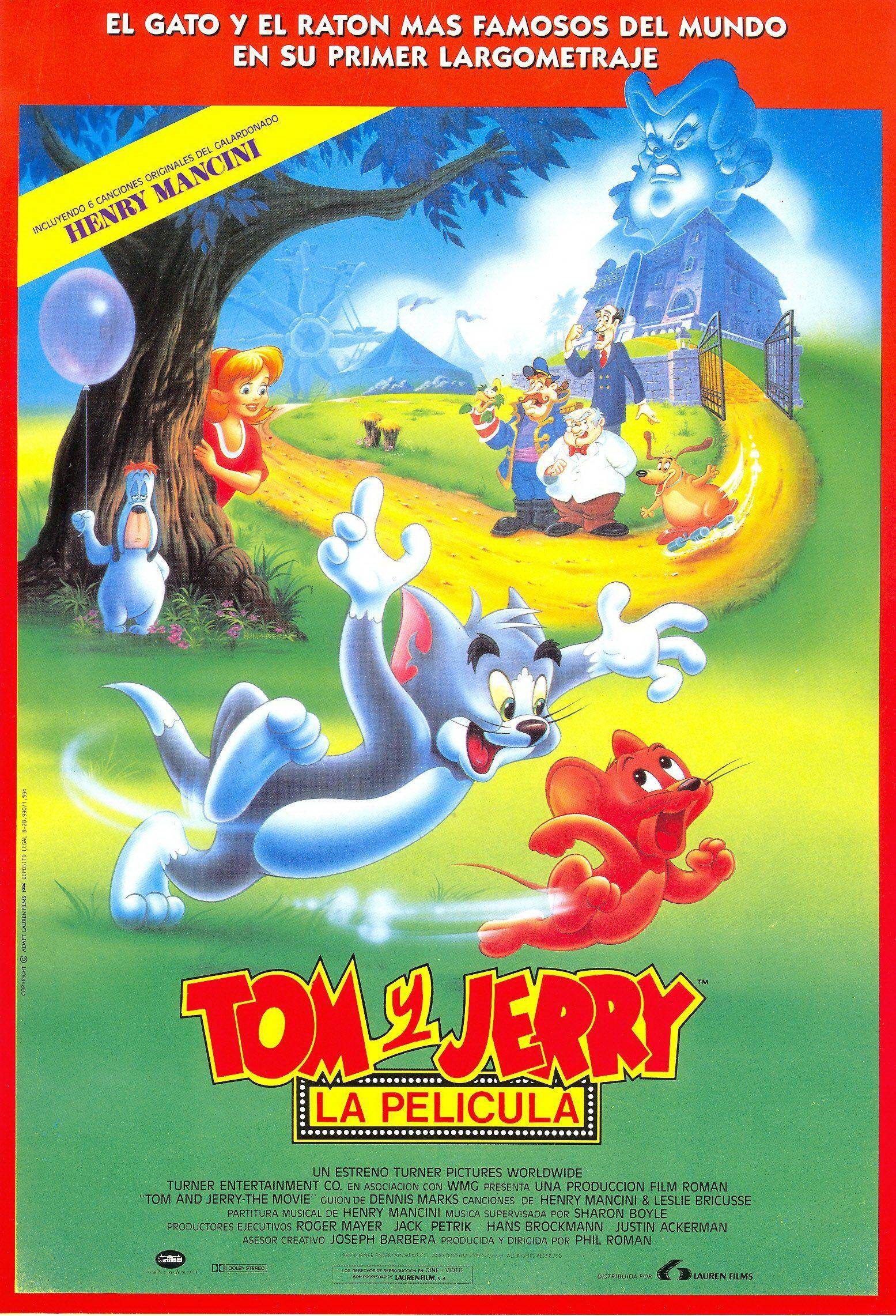 Tom Y Jerry La Pelicula Tom Y Jerry Peliculas Peliculas De Animacion