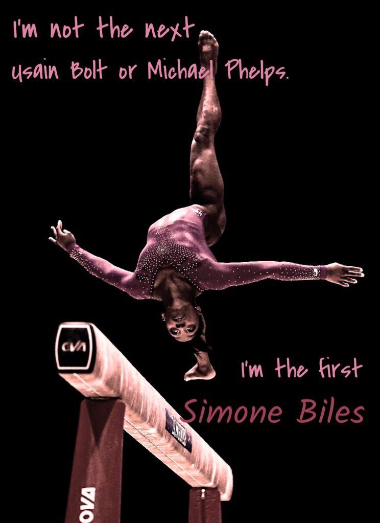 simone biles gymnastics quotes