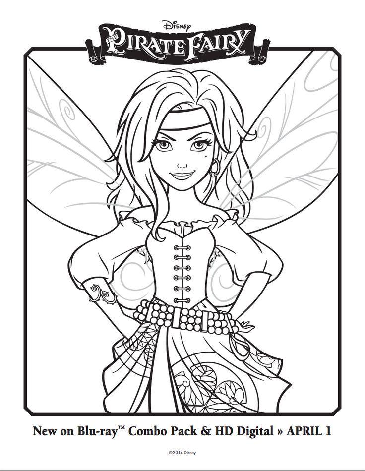 Kleurplaten Tinkerbell En De Piraten.Zarina The Pirate Fairy Tinkerbell Stuff Kleurplaten Tinkerbell