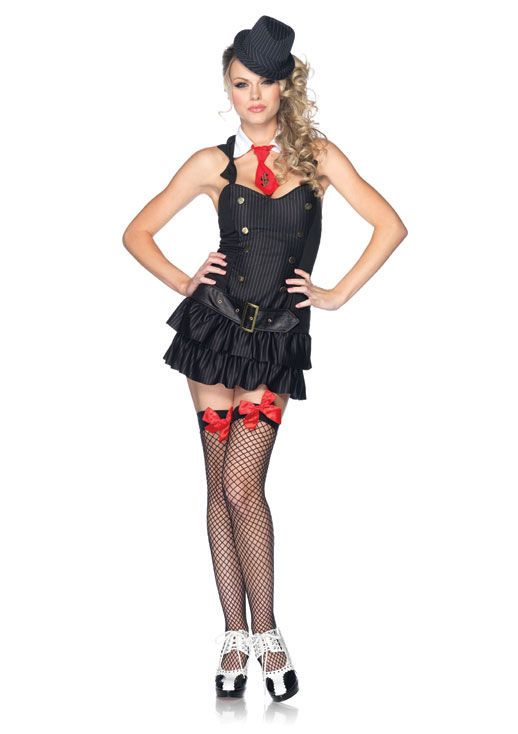Leg Avenue Gangster Princess Costume  Get It On Fancy Dress Superstore Fancy Dress u0026 Accessories For The Whole Family. ...  sc 1 st  Pinterest & Leg Avenue Gangster Princess Costume : Get It On Fancy Dress ...
