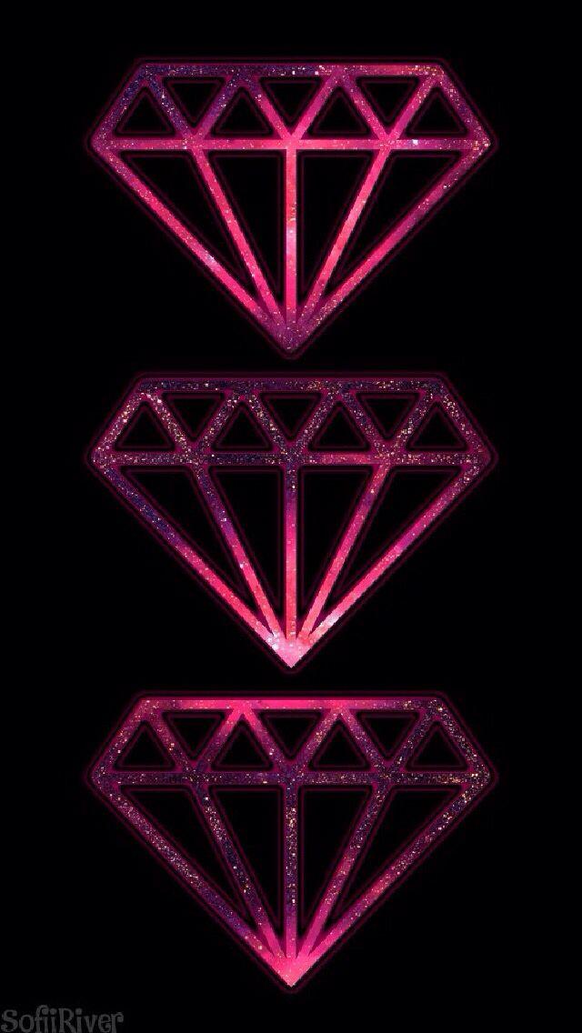3 diamonds - iPhone wa...