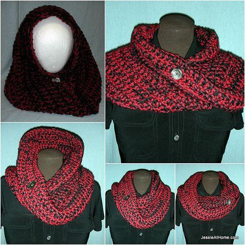 Ali-Mobius-Cowl-Free-Crochet-Pattern-Light-Chunky | Tejidos ...