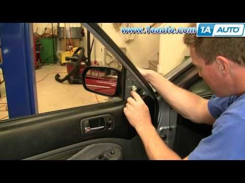 How To Install Replace Side Rear View Mirror Honda Civic 01 05 Vin Starts With 2 1aauto Com Honda Civic How To Fix A Mirror Honda Civic Hybrid