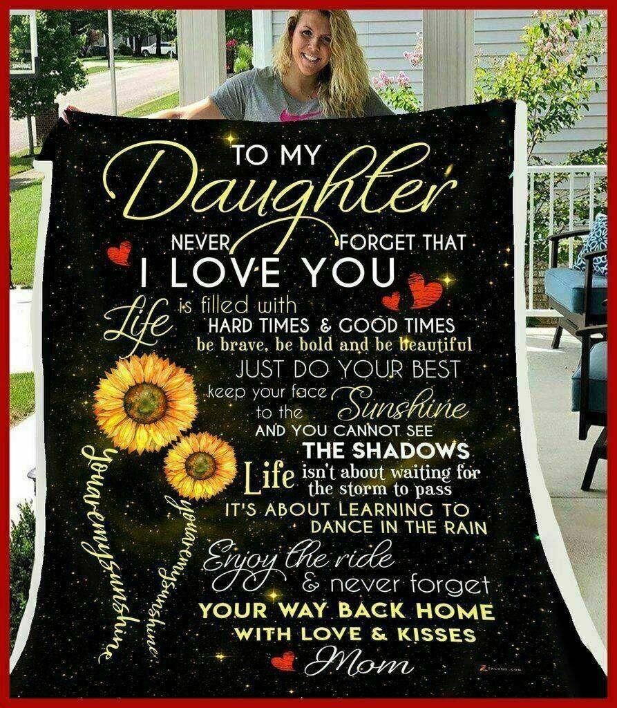 You Are My Sunshine Sloth Love Mom Sofa Fleece Blanket 50-80